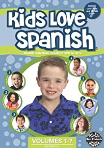 Kids Love Spanish: Volumes 1-7 DVD Box Set