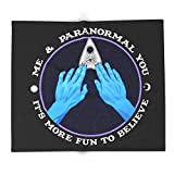 Society6 Me & Paranormal You - James Roper Design - Ouija (white Lettering) 88'' x 104'' Blanket