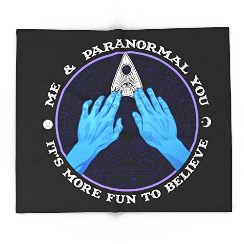Society6 Me & Paranormal You - James Roper Design - Ouija (white Lettering) 88'' x 104'' Blanket by Society6
