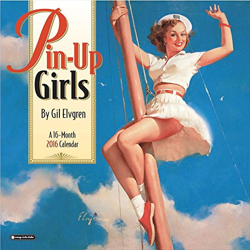 16 Month 2016 Wall Calendar - Orange Circle Studio 16-Month 2016 Wall Calendar, Pinup Girls by Gil Elvgren