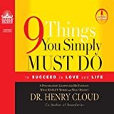Bargain Audio Book - 9 Things You Simply Must Do