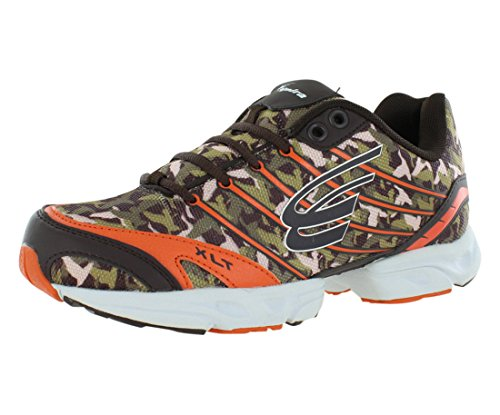 SPIRA Women's Chocolate/Orange/White Duck Dynasty Women 9...