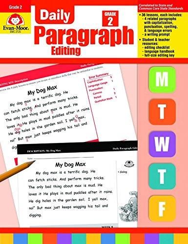 Daily Paragraph Editing, Grade 2