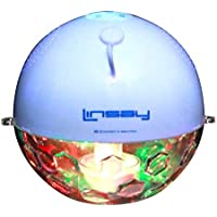 LINSAY NEW SLP-1X Pool Party Waterproof Bluetooth Speaker with LED Light Show