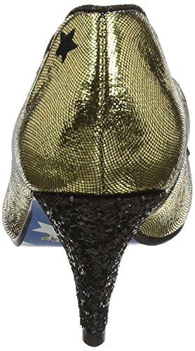 Uregelmæssig Valg Dame Glitzy Mickey Pumps Guld (guld Metallic) mRNWdEy