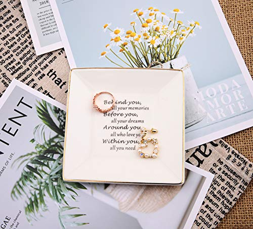 Julius Thomson Graduation Gifts for Daughter – Ceramic Ring Dish – Birthday Gift, Inspirational Gifts for Women, Girls…