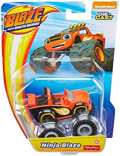 Fisher-Price Nickelodeon Blaze & The Monster Machines, Ninja Blaze Toy, Red