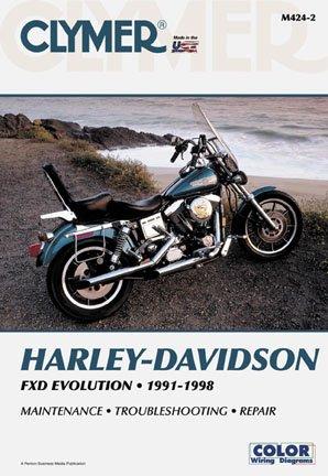 (Clymer MANUAL HARLEY DYNA-GLIDE 91-98 Manuals & Videos Cylmer Manual91-95 Dyna Models)