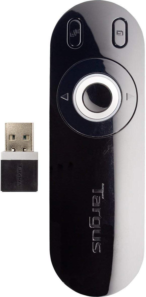Targus AMP13EU - Puntero Láser USB, Color Negro/Gris