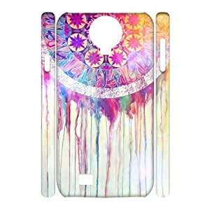 LZHCASE Diy Case Dream Catcher Cover For Samsung Galaxy S4 i9500 [Pattern-1]