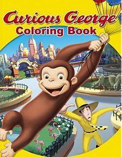 Curious George Super Sticker Coloring Book: H. A. Rey: 9780618998777 ...