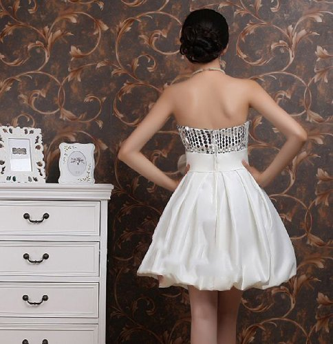 Mini A Women's Dearta Short Dresses Satin Line Bridesmaid Ivory 5CHgIgnqx
