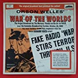 WAR OF THE WORLDS Orson Wells Original Broadcast Dbl LP Vinyl VG GF 4001