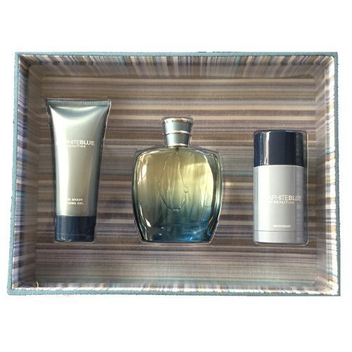 Graphite Blue by Realities Cosmetics for Men 3pc Gift