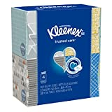 Kleenex Upright Facial Tissue, 55 Count (Pack of 4)