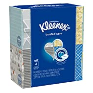 Kleenex Everyday Facial Tissues, 55 ct, 4 Pack