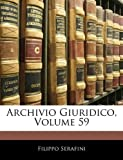 Archivio Giuridico, Filippo Serafini, 1143820142