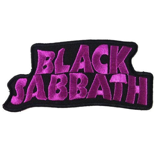 Patch Cube Black Sabbath Heavy Metal Punk Rock Band Iron on Patches, 2 by ()