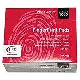 Inkless Fingerprint Pad, 2 1/4 x 1 3/4, Black, Dozen, Sold as 1 Dozen, 6PACK , Total 6 Dozen