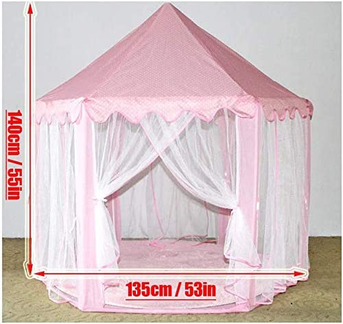 MYMM Play Tent baby birthday gift Kids Nook Tents for Indoor /& Outdoor Use Play House Puzzle game Children Princess Castle Carrying Case Blue