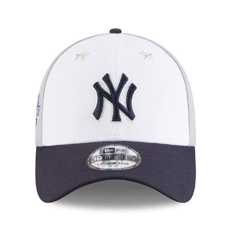Amazon.com   New Era New York Yankees 2018 MLB All-Star Game 39THIRTY Flex  Hat - White c080a8dbfe3