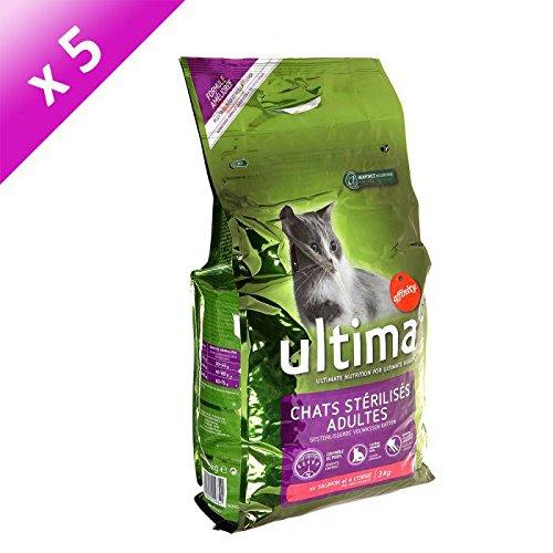 Ultima sterilisiert lachs 3kg (X5)