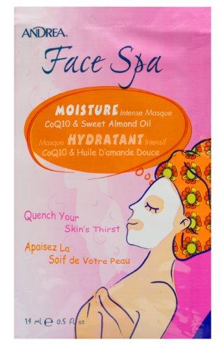 Masque Spa - Andrea Face Spa Moisture Intense Face Masque, 0.5-Ounce (Pack of 12)