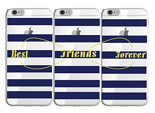 (Shark Infinity BFF Best Friends Forever Matching Cases for (Iphone 6/6s-4.7inch))