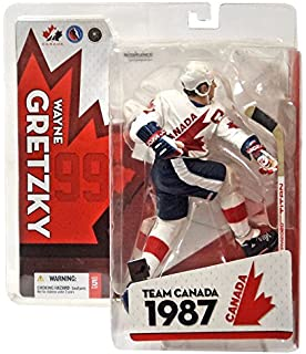 b6b2180e6 McFarlane Toys NHL Sports Picks Team Canada Action Figure Wayne Gretzky