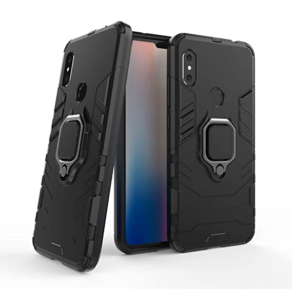 online retailer d2ce5 5a3b6 Xiaomi Redmi Note 6 ProCase DWaybox Iron Man Design 2 in 1 Hybrid Heavy  Duty Armor Hard Back Case Cover with Ring Holder for Xiaomi Redmi Note  6/Redmi ...