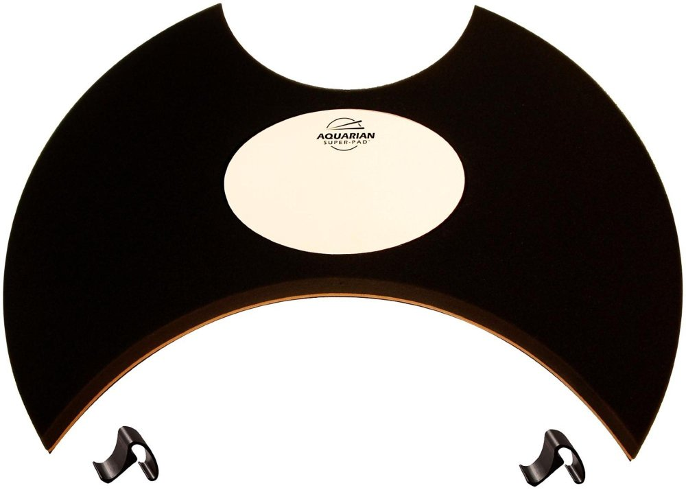 Aquarian Drumheads Super-Pad Low-volume Bass Drum Surface - 20''