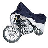 Ohuhu バイクカバー カバー バイク 用 厚手 丈夫 高品質300D オックス 防水 耐熱 UVカット 盗難防止 風飛び防止 収納袋付き