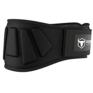 Iron Bull Strength Weightlifting Belt for Men and Women – 6 Inch Auto-Lock Weight Lifting Back Support, Workout Back Support for Lifting, Fitness, Cross Training and Powerlifitng