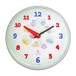 Cartoon Animals--12.75 Children's Wall Clock
