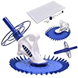 Automatic Swimming Pool Cleaner Set Clean Vacuum Inground Above Ground W/10 Hose