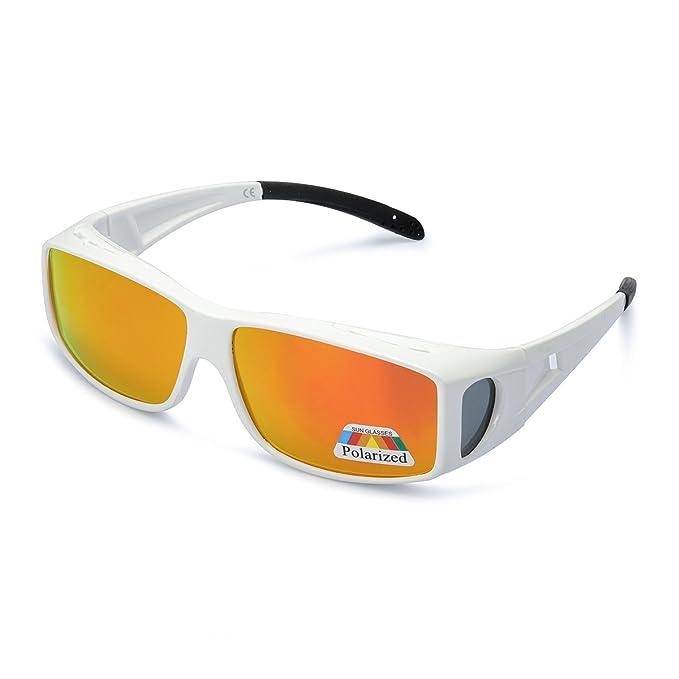 LVIOE Gafas de Sol Sobre Gafas, gafas de sol de Fitover de ...