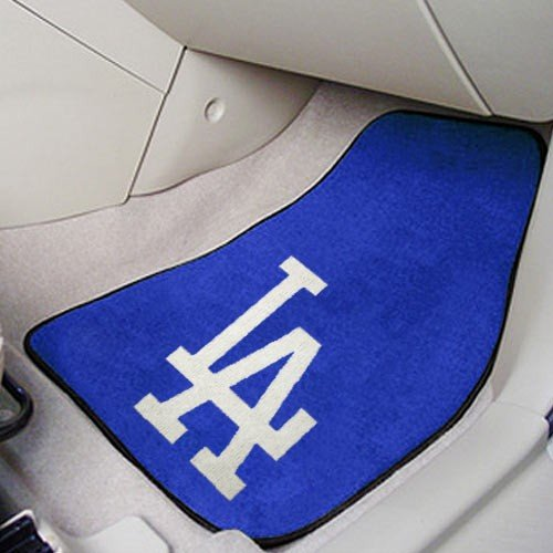 Fanmats Los Angeles Dodgers Carpet Car Mats - Los Angeles Dodgers One Size