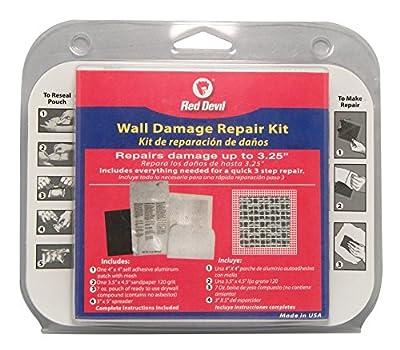 Red Devil 1217 Wall Damage Repair Kit, White
