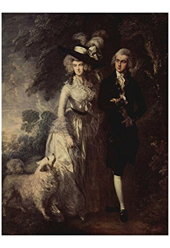Thomas Gainsborough The morning walk portrait of the Squire Hallett and his wife Art