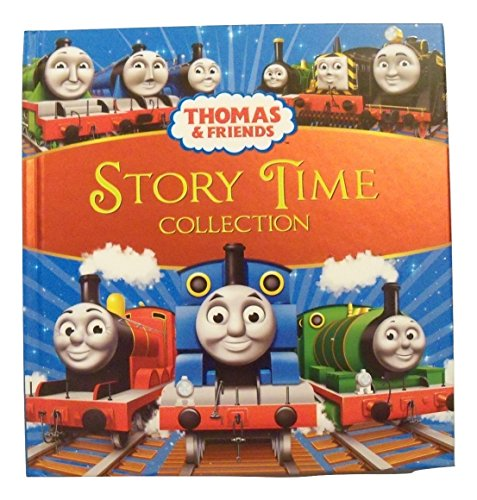 Thomas and Friends Educational Book for Kids ~ Story Time Collection (Foil Cover; 8.75