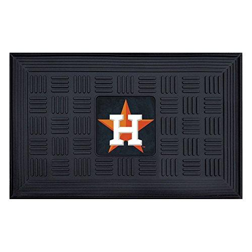 Medallion Door Mat - Fanmats 11300 MLB Houston Astros Vinyl Medallion Door Mat