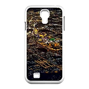 Samsung Galaxy S4 9500 Cell Phone Case White_Vegas Flyby Lueyi