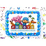 Amazon.com: sdore Pocoyo Comestible Decoración Para Tarta ...