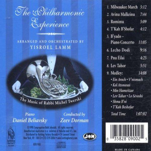 Yisroel Lamm Presents The Philharmonic Experience (The Music of Rabbi Michel Twerski) by Knitting Factory
