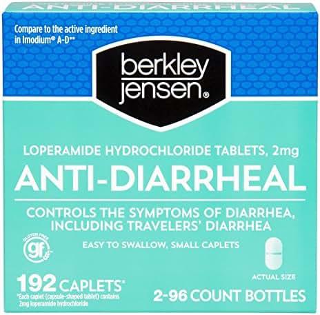 Berkley Jensen Anti-Diarrheal, 192 Caplets
