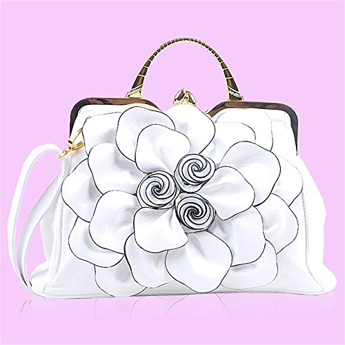 Pink Bag Sunyixinnb Shoulder Woman Bag White White With qIw6wvBn5