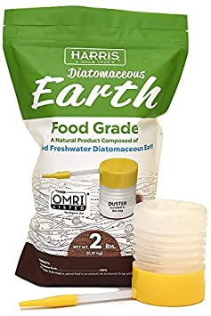 HARRIS Diatomaceous Earth Food Grade, Powder Duster Included