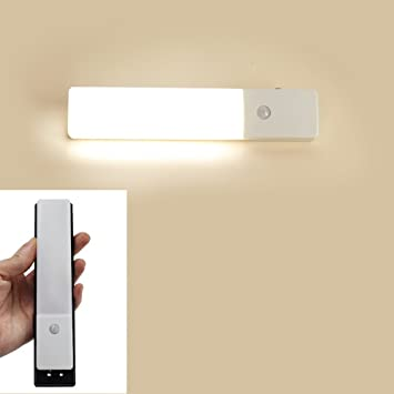 ZEEFO Wireless PIR Motion Sensor Light Closet LED Night Light Hallway Stairs  Wardrobe Wall Light,