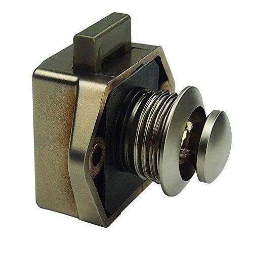 starnearby Push Button Lock Verriegelung fü r Knauf Caravan Wohnmobil-Camper Motor Home Schrank, Durchmesser 20 mm