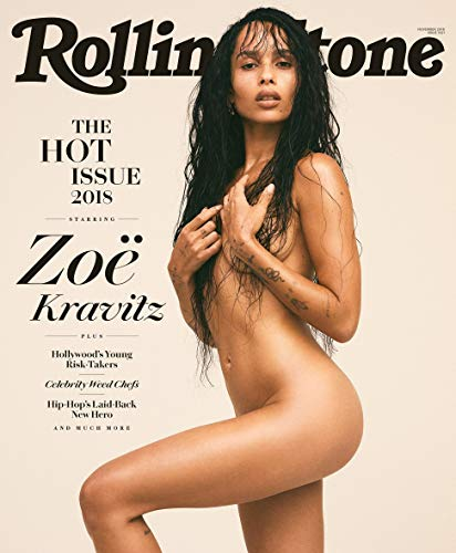 (Rolling Stone Magazine (November, 2018) The Hot List Issue Zoe Kravitz Cover)